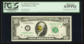 Error Notes:Major Errors, Fr. 2023-I $10 1977 Federal Reserve Note. PCGS Choice New 63PPQ.....