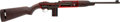 Long Guns:Semiautomatic, Rare Inland Cutaway M1 X-Prefix Presentation Carbine....