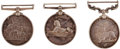 Militaria:Insignia, Group of Group of Three Victorian Campaign Medals,... (Total: 3 Items)