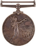Militaria:Insignia, Queen's South Africa Medal (type 2 reverse) Lord Strathcona'sHorse,...