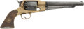 Handguns:Muzzle loading, Reproduction Brass Frame .44 Caliber Percussion Revolver....