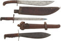 Edged Weapons:Knives, Lot of Three U.S. Military Knives.... (Total: 3 Items)