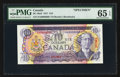 Canadian Currency: , BC-49aS $10 1971 Specimen.. ...