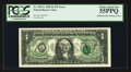 Error Notes:Major Errors, Fr. 1922-L $1 1995 Federal Reserve Note. PCGS Choice About New55PPQ.. ...