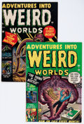 Golden Age (1938-1955):Horror, Adventures Into Weird Worlds #2 and 3 Group (Atlas, 1953)Condition: Average VG/FN.... (Total: 2 Comic Books)