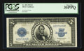 Large Size:Silver Certificates, Fr. 282 $5 1923 Silver Certificate PCGS Very Fine 35PPQ.. ...