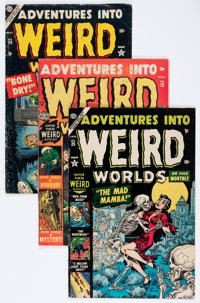 Adventures Into Weird Worlds Group (Atlas, 1952-54).... (Total: 7 Comic Books)