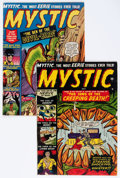 Golden Age (1938-1955):Horror, Mystic #3 and 4 Group (Atlas, 1951).... (Total: 2 Comic Books)