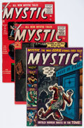 Golden Age (1938-1955):Horror, Mystic Group (Atlas, 1952-57) Condition: Average FN.... (Total: 5Comic Books)