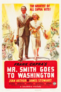 "Movie Posters:Drama, Mr. Smith Goes to Washington (Columbia, 1939). One Sheet (27"" X41"") Style B.. ..."
