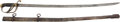 Edged Weapons:Swords, U.S. Model 1833 Enlisted Mans' Dragoon Saber With Mismatched Scabbard....