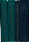 Books:Books about Books, [Books About Books]. Group of Two Titles in Four Volumes. Various, 1978-1989. Near fine.... (Total: 4 Items)