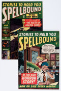 Golden Age (1938-1955):Horror, Spellbound #2 and 9 Group (Atlas, 1954).... (Total: 2 Comic Books)