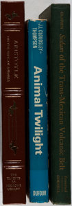 Books:Natural History Books & Prints, [Natural History]. Group of Three Books. Various, 1959-1999. Very good or better condition.... (Total: 3 Items)