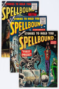 Golden Age (1938-1955):Horror, Spellbound Group (Atlas, 1953-56).... (Total: 5 Comic Books)