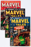 Golden Age (1938-1955):Horror, Marvel Tales Group (Atlas, 1953-57).... (Total: 9 Comic Books)