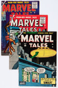 Golden Age (1938-1955):Horror, Marvel Tales Group (Atlas, 1954-56) Condition: Average VG....(Total: 8 Comic Books)
