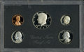 Proof Roosevelt Dimes: , 1983 10C No S PR68 Deep Cameo Uncertified. This scarce No S minterror remains housed in its mint-issued five-piece black p...(Total: 5 Coins)