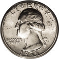 Washington Quarters: , 1936-D 25C MS66 PCGS. This is a scarce key-date issue that isnearly impossible to locate any finer, with just nine higher ...