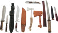 Edged Weapons:Knives, Lot of Six Assorted Edged Weapons....
