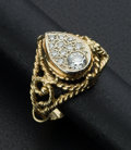 Estate Jewelry:Rings, Diamond & Gold Ring. ...