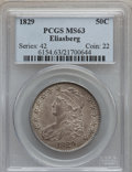 Bust Half Dollars, 1829 50C Small Letters MS63 PCGS. O-115, R.1....