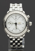 Timepieces:Wristwatch, Breitling Astromat Chronograph Longitude Steel Wristwatch, No. 218of 700 Produced. ...