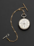 Timepieces:Pocket (pre 1900) , William McInnes Glasgow Irish Market Lever Fusee Sterling Case. ...