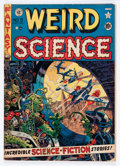 Golden Age (1938-1955):Science Fiction, Weird Science #9 (EC, 1951) Condition: GD/VG....