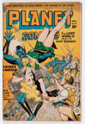 Golden Age (1938-1955):Science Fiction, Planet Comics #32 (Fiction House, 1944) Condition: VG-....