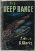 Books:Science Fiction & Fantasy, Arthur C. Clarke. SIGNED. The Deep Range. Frederick Muller,1957. First English edition. Signed by the author on...