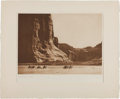 "Photography:Official Photos, Edward S. Curtis, Photographer. Vintage Proof Print from TheNorth American Indian: ""Canon de Chelly - Navaho""...."