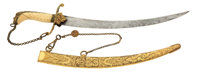 British Naval Dirk C. 1812 Exhibiting Some Of The Most Exquisite Workmanship We've Ever Seen
