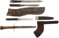 Edged Weapons:Knives, Lot of Three Civil War Period Knives.... (Total: 3 Items)