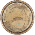 Military & Patriotic:WWI, Small Sterling Tray Presented By General and Mrs Eisenhower...