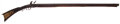 Long Guns:Muzzle loading, Unsigned, Incise Carved, South Central Pennsylvania OriginalFlintlock Full Stock Rifle C. 1830...