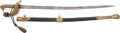 Edged Weapons:Swords, Early 19th Century Era Royal Navy Officers' Sword....