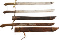 Edged Weapons:Swords, Lot of Three German Model 1845 Fusiliers' Short Swords.... (Total: 3 Items)
