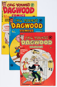 Dagwood File Copies Box Lot (Harvey, 1950-65) Condition: Average VF