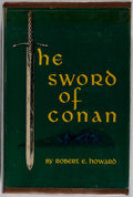 Books:Science Fiction & Fantasy, Robert E. Howard. The Sword of Conan. The Hyborean Age. Gnome Press, Inc., 1952. First printing. Hardbound with ...