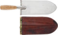 Edged Weapons:Other Edged Weapons, U.S. Model 1880 Entrenching Tool with Scabbard....