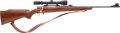Long Guns:Bolt Action, Belgium Browning Bolt Action Rifle with Telescopic Sight....
