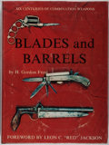 Books:Americana & American History, H. Gordon Frost. Blades and Barrels: Six Centuries ofCombination Weapons. Walloon Press, 1972. First edition. I...