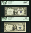 Error Notes:Error Group Lots, Fr. 1614 $1 1935E Silver Certificates. Two Examples. PCGS Very Fine25-Superb Gem New 68PPQ.. ... (Total: 2 notes)