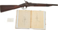 Long Guns:Single Shot, William Pratt Breech-Loading Carbine and Ledger Book.... (Total: 3Items)