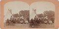 "Photography:Stereo Cards, Stereoview: ""Sioux Peace Council""...."