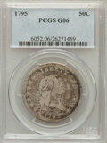 Early Half Dollars, 1795 50C 2 Leaves Good 6 PCGS. O-129, R.4....