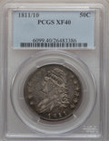Bust Half Dollars: , 1811/10 50C XF40 PCGS. PCGS Population (23/78). NGC Census:(7/221). Numismedia Wsl. Price for problem free NGC/PCGS coin ...