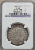Early Half Dollars, 1806/5 50C -- Reverse Graffiti -- NGC Details. XF. O-102. NGCCensus: (16/888). PCGS Population (21/52). Numismedia Wsl. P...