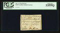 Colonial Notes:North Carolina, North Carolina April 2, 1776 $1/8 Lion PCGS About New 53PPQ.. ...